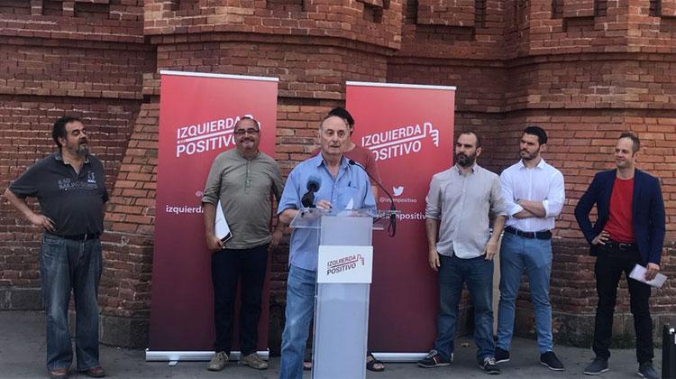 """IZQUIERDA EN POSITIVO, una opción de voto a la izquierda """"no independentista"""", se presenta en Barcelona"""