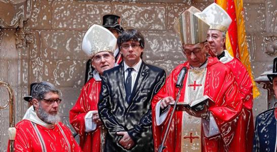 Rascas nacionalismo y sale Iglesia