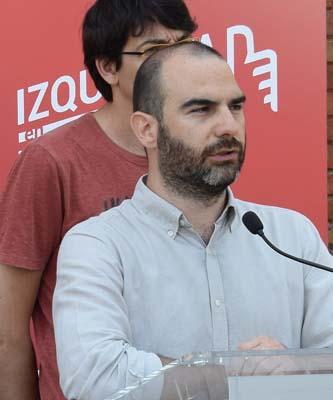 Enrique Sanjurjo delegado en Madrid de IZQUIERDA EN POSITIVO
