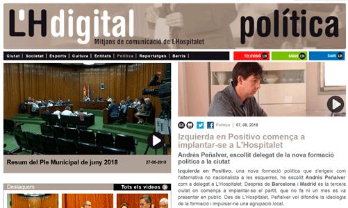 L'Hdigital se hace eco del nombramiento de nuestro delegado en Hospitalet
