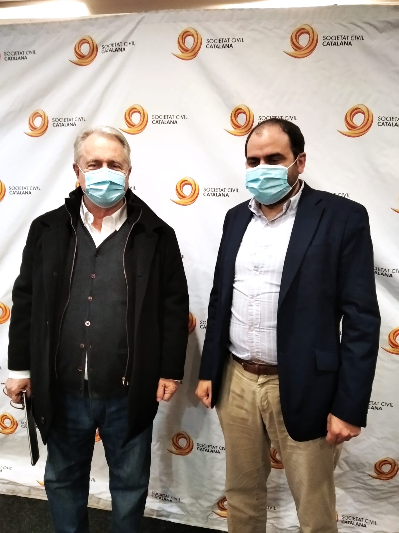 Izquierda En Positivo se reúne con el Presidente de Societat Civil Catalana (SCC)